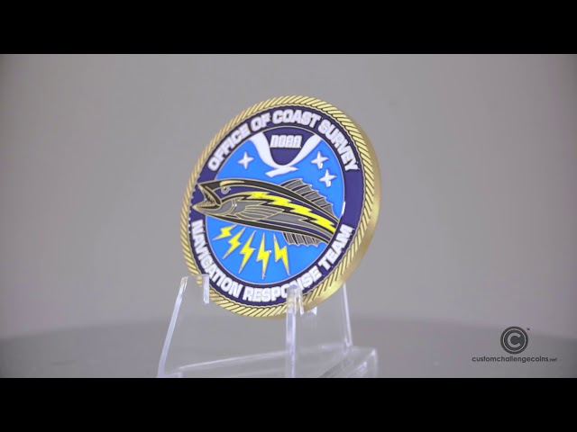 Custom Challenge Coins - Office of Coast Survey