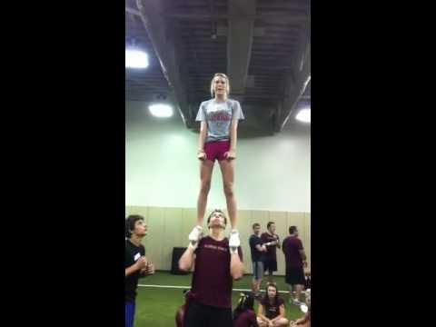 Abby Walker Stunting at FSU