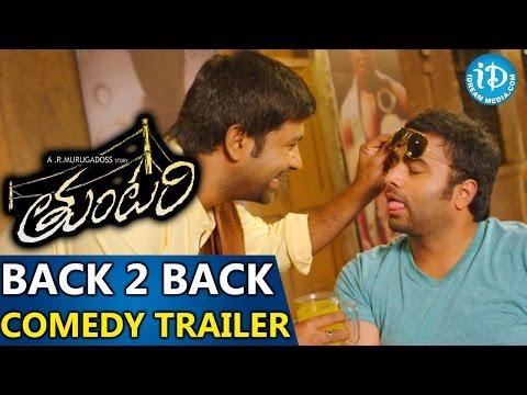 Tuntari Movie - Back To Back Comedy Trailers || Nara Rohith || Latha Hegde || Kumar Nagendra