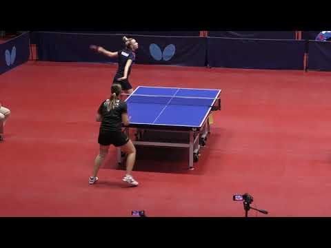 Видео: TIKHOMIROVA - MALININA #MOSCOW #Championships 2020 #RUSSIAN #tabletennis #настольныйтеннис