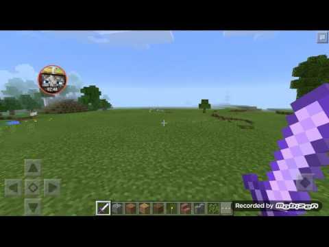 Minecraft pe how to get sharpness 1000