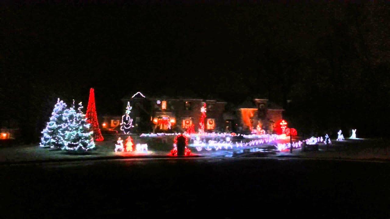 Christmas Lights Boardman Ohio - YouTube