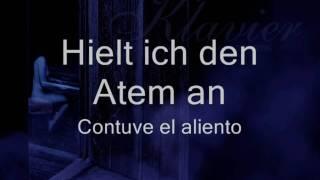 Rammstein - Klavier (Letras Alemán - Español)