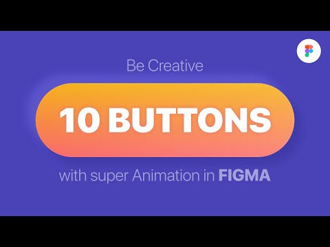 Animated Buttons In #FIGMA   Анимируй кнопки в FIGMA