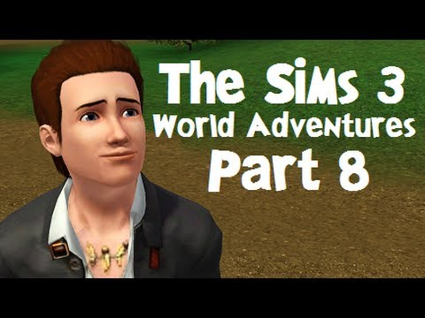 Let's Play: The Sims 3 World Adventures - (Part 8) - Smashing Boulders