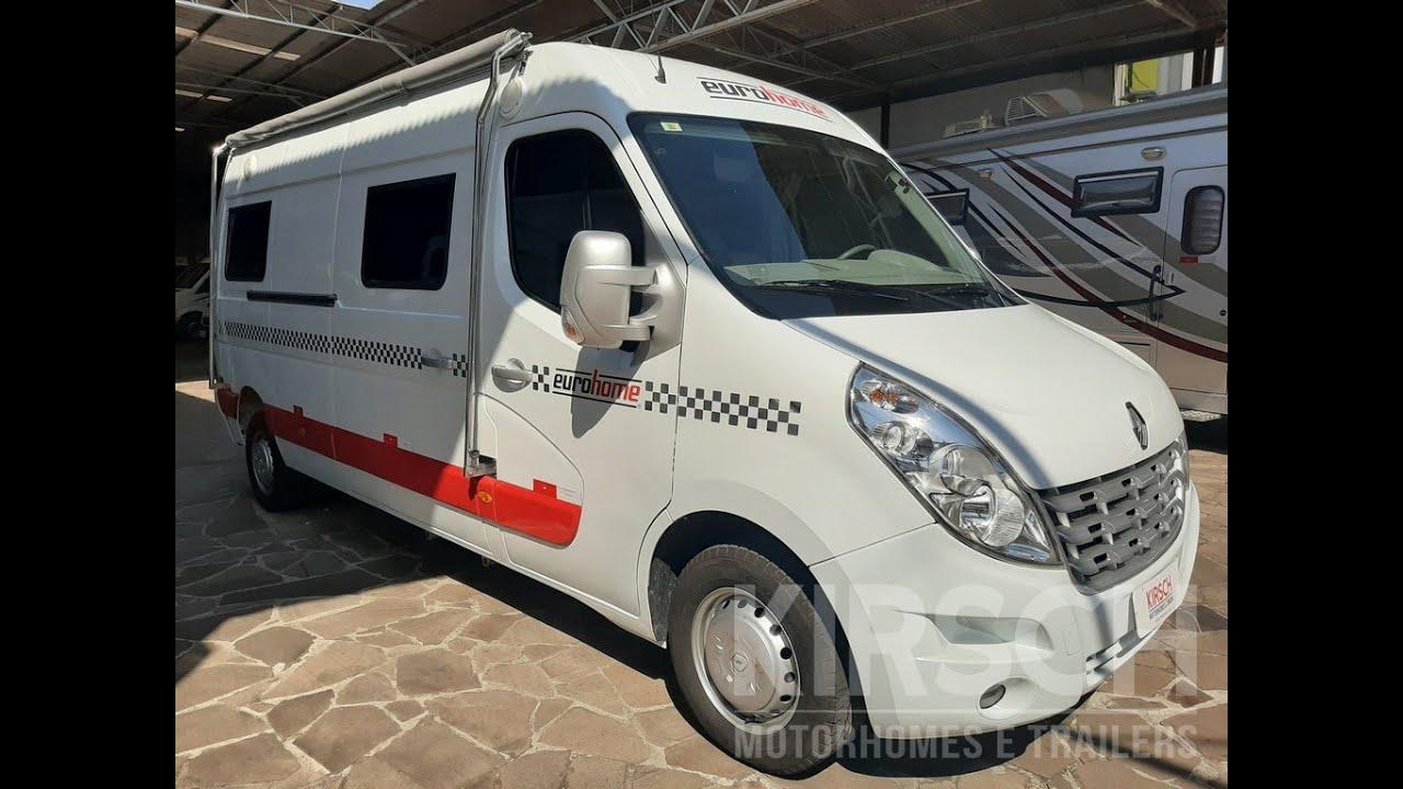 VENDE-SE - Eurohome Renault Master - 2017 - R$ 264.000,00 - Kirsch Motorhomes #121