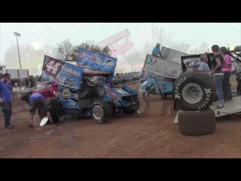 Williams Grove Speedway World of Outlaws Highlights 5-20-16