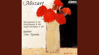String Quartet In C Major, K. 465 (Op. 10/6) : Menuetto: Allegretto