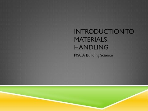 Intro to Materials Handling Final Copy