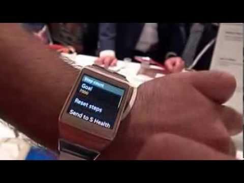 Samsung Galaxy Gear Kullanım Videosu