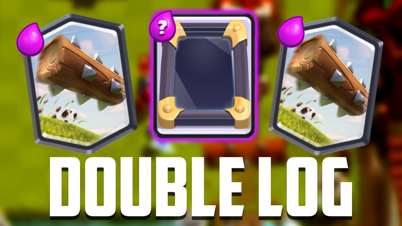 Clash Royale - Mirrored LOG! New Deck - YouTube