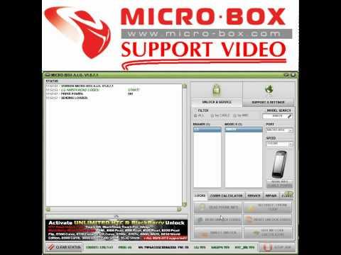 LG KM570 read code by Micro-box - www.micro-box.com