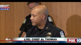 Charlottesville Police Chief Al Thomas: 'We were Hoping for a Peaceful Event'