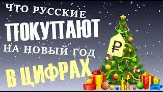 Сколько тратят россияне на подарки и что покупают на Новый год?