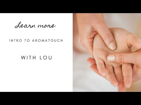 DoTERRA AromaTouch Technique Training In Canada