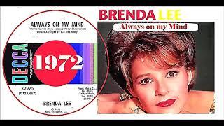 Brenda Lee - Always on my mind 'Vinyl'