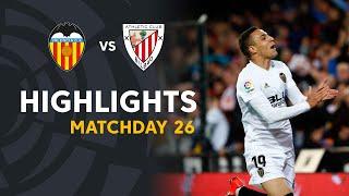 Highlights Valencia CF vs Athletic Club (2-0)