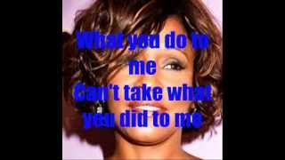 Whitney Houston Hotel Heartbreak with Lyrics by Jr