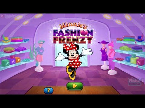 Minnie S Fashion Frenzy Disney Junior Games Onli̇ne Free