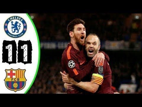 Barcelona vs Chelsea - Extended Highlights HD 2018