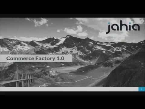 JahiaX DC 2016 - Introducing Commerce Factory 1.0 (Beta)