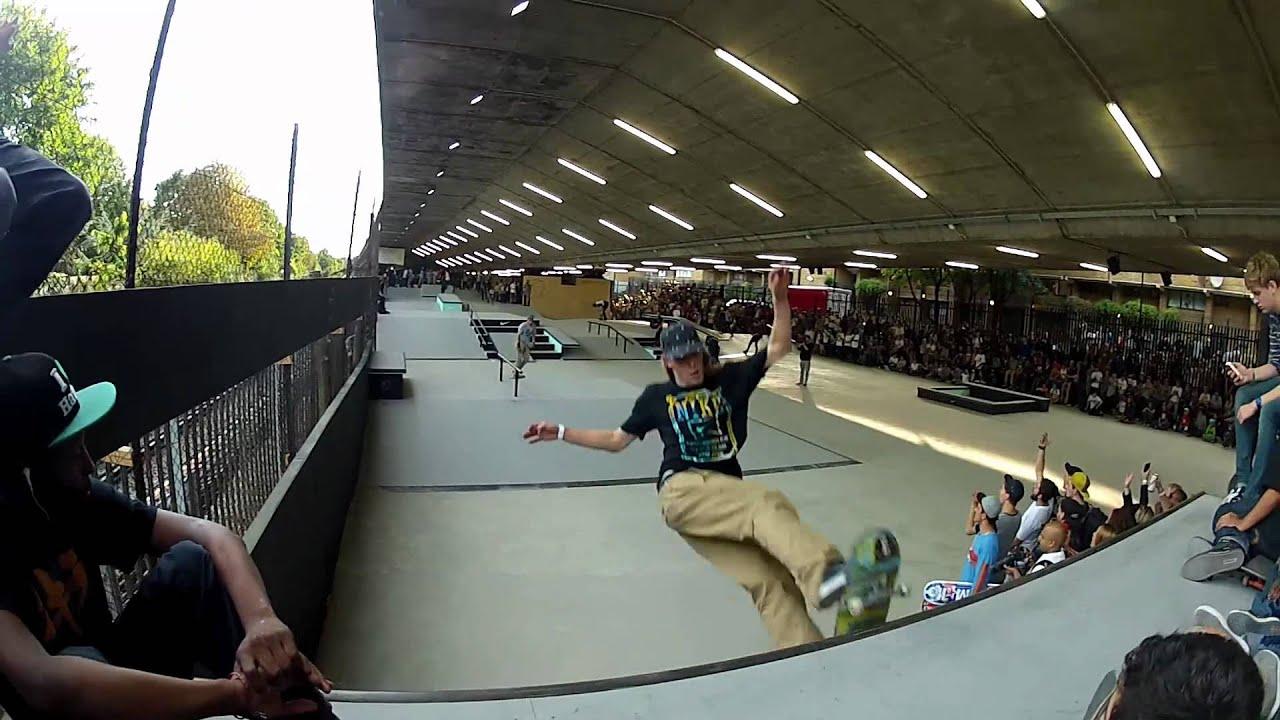 Nike SB Demo Bay 66 skatepark reopening 15 09 2012 - YouTube 4fb8ba763c29