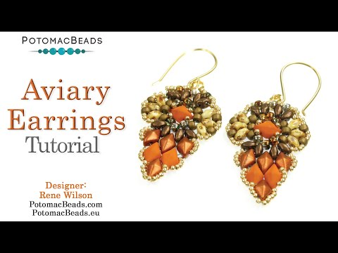 Aviary Earrings Design (DIY)