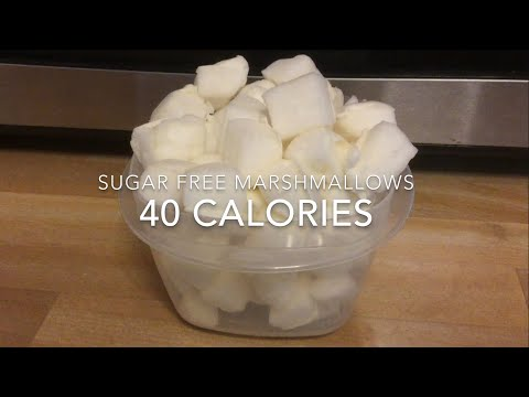 Sugar Free Marshmallows | 40 Calories