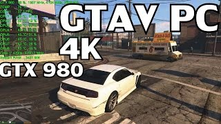 Grand Theft Auto V: PC【4k - 3840X2160】GTX 980 & i7 4790k