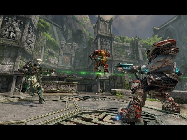 Quake Champions brings back rocket-jumps and glorious deathmatches