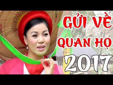 Gửi Về Quan Họ - Hồng Tươi | Dân Ca Quan Họ Bắc Ninh 2017
