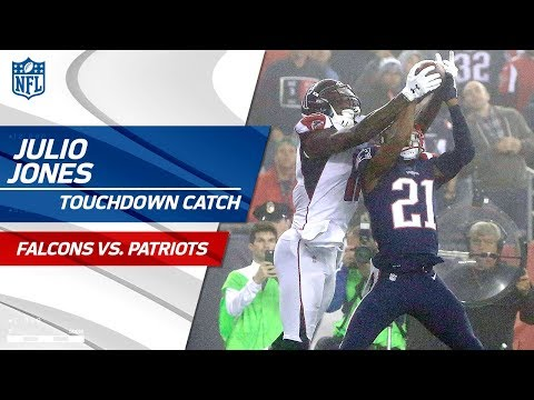 Julio Jones Rips the Ball Away from Malcolm Butler for a TD! | Falcons vs. Patriots | NFL Wk 7