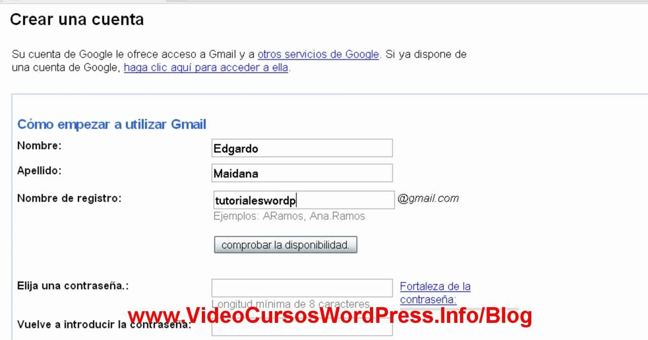 Gmail Como Correo Gmail Abrir Correo Electronico Youtube