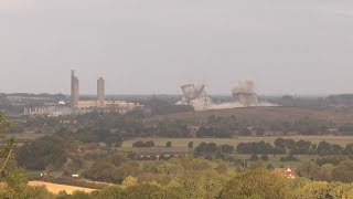 The Moment Didcot Power Station's Cooling Towers Were Demolished...