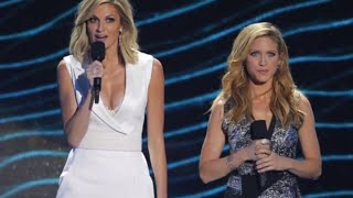Brittany Snow and Erin Andrews Host CMT Awards