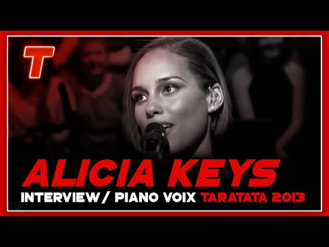Alicia Keys Interview + piano voix (Intégrale)