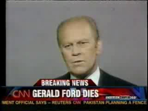 Death of President Gerald R. Ford CNN Coverage 12-26/12-27-2006
