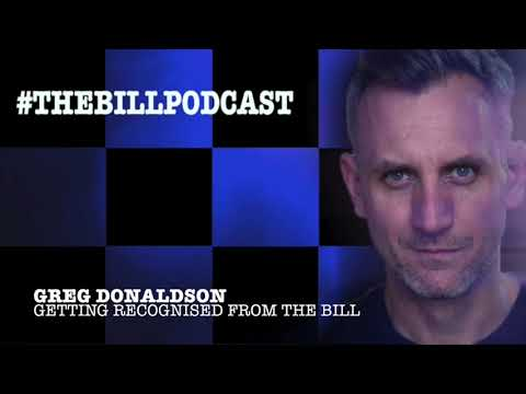 Greg Donaldson DC Tom Proctor on being recognised from The Bill