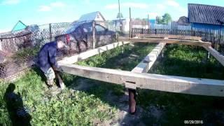 Баня из бруса 6 на 3 своими руками: проект (фото и видео)