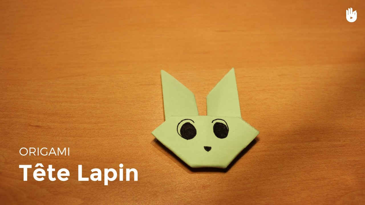 origami lapin facile youtube. Black Bedroom Furniture Sets. Home Design Ideas