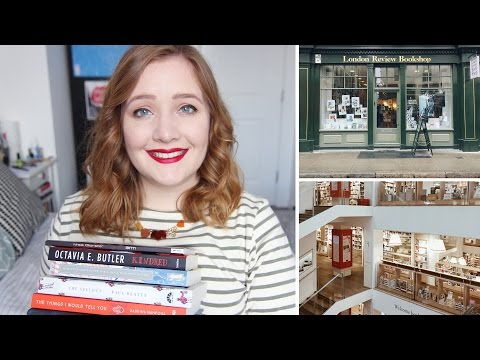 Book Haul & London Bookshop Faves | Booksandquills.
