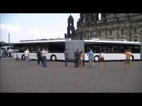 Longest bus debuts in  Dresden, Germany