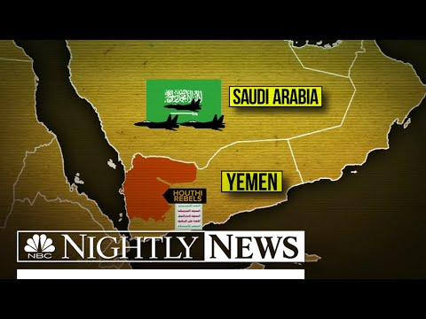 Saudi Arabia Mobilizes Ground Troops To Fight In Yemen | NBC Nightly News