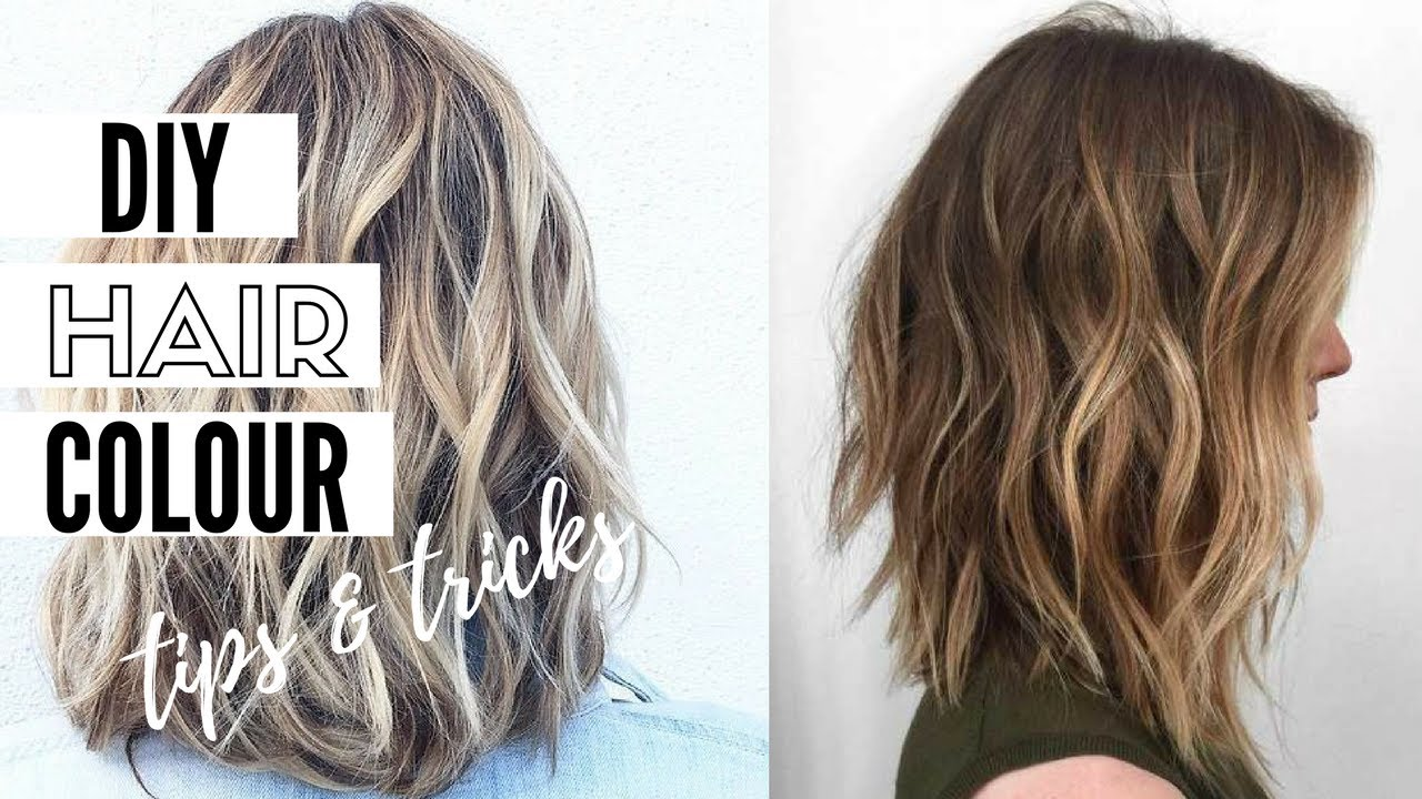 How To Colour Your Hair At Home  Pro Tips And Tricks  YouTube