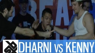 "DHARNI (SGP) vs KENNY URBAN (USA) | GBBB ""Seven To Smoke"" 2015 
