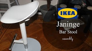 Ikea Janinge Bar Stool (Assembly)