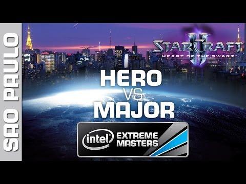 herO vs. MajOr - Quarterfinal - IEM Sao Paulo - StarCraft 2