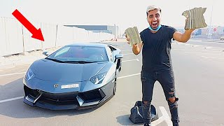 I Sold my Lamborghini , This is the CASH i got ...
