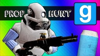 Gmod Prop Hunt Funny Moments - LIL' CAN!