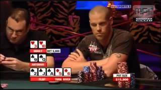 ??? ?? ?? ??? ?? ???!!Texas hold'em Poker  Patrik Antonius  highlight??? ?????? ??? ???